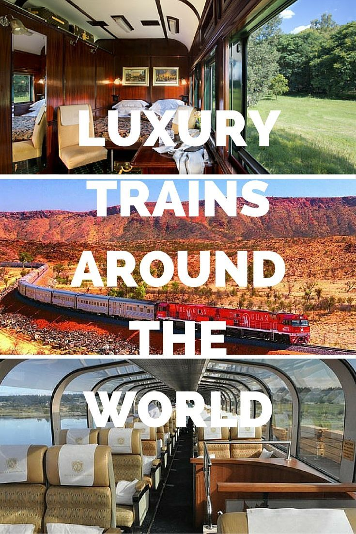 Luxury trains are one of the best and most eco-friendly ways to get around the world and comfortable tourist trains offer fun and enjoyment keeping you in touch with the spectacularly beautiful nature!