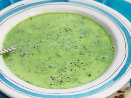 En mustig, krämig soppa som passar att göra i dubbel sats.