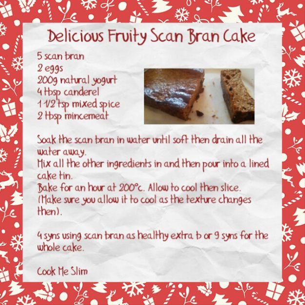 Fruity Scan Bran Cake
