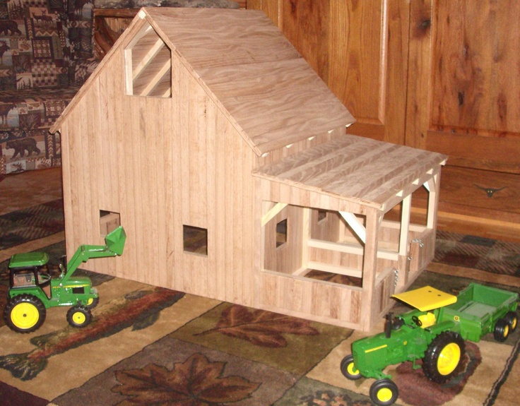 Wooden Toy Barn #7                                                                                                                                                                                 More