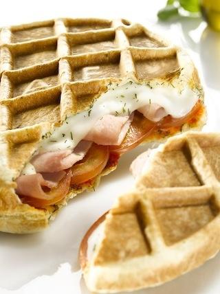 La lunchwaf de Waffle Factory !