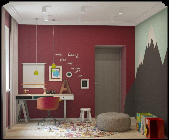 Комната для ребенка. Оформление детской комнаты. Дизайн детской для девочки.
