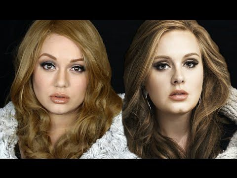 HOW TO BECOME ADELE! The Makeup Tutorial - YouTube