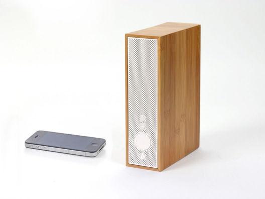 Music o/: Bluetooth Speakers, Idea, Design Bamboo, Stuff, Product Design, Reads Design, Booth Speakers