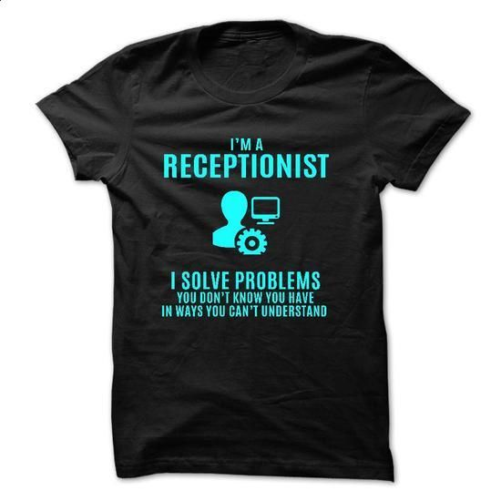 Love being -- RECEPTIONIST - #shirt design #transesophageal echo. ORDER HERE => https://www.sunfrog.com/No-Category/Love-being--RECEPTIONIST-61155901-Guys.html?60505