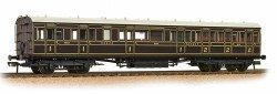 Bachmann 39-610 SECR 60 Birdcage Composite SECR Dark Lake - OO Scale: Rolling Stock Passenger, SR Coaches.  Your Price: £55.21 MRP: £64.95 Save £9.74 (15%)