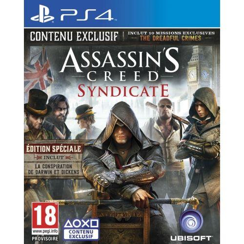 Jeux vidéo PS4 Cultura, achat Assassin's Creed Syndicate Edition Spéciale pas cher prix promo Cultura 69.99 €