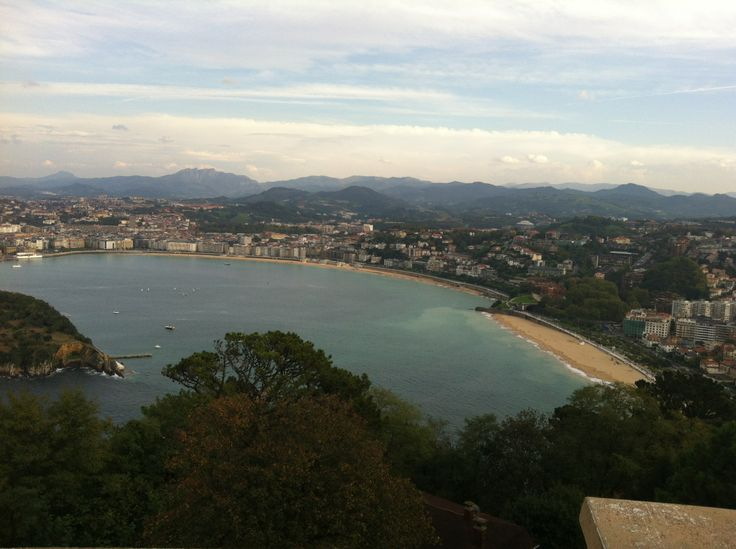 Donosti desde el Monte Igueldo #donosti #monteigueldo #naturaleza #mar