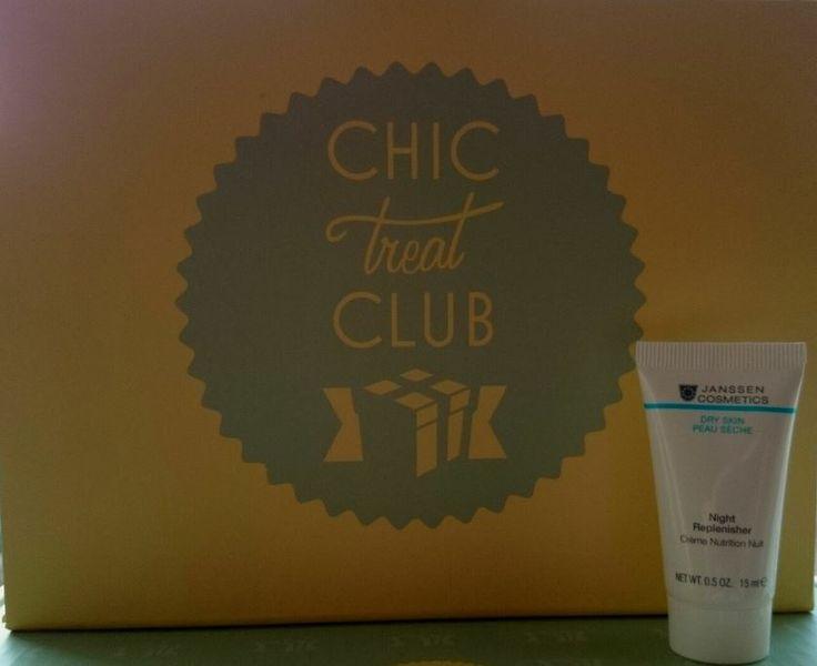 Janssen Beauty Sleep Skincare - Night Replenisher in the April Chic Treat Club box!