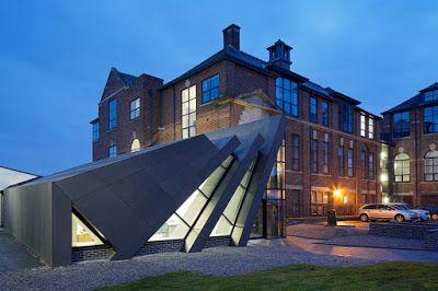 Portal de Diseño y Decoración: Espacios para trabajar: espectacular edificio y re...