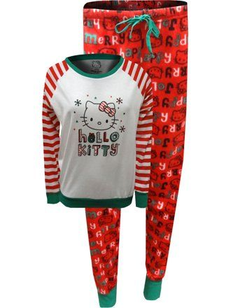 d8b523333 Hello Kitty - Hello Kitty Stay Cozy Holiday Pajama Set - Click to buy! #