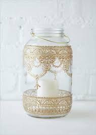 Image result for lamparinas com potes de vidro
