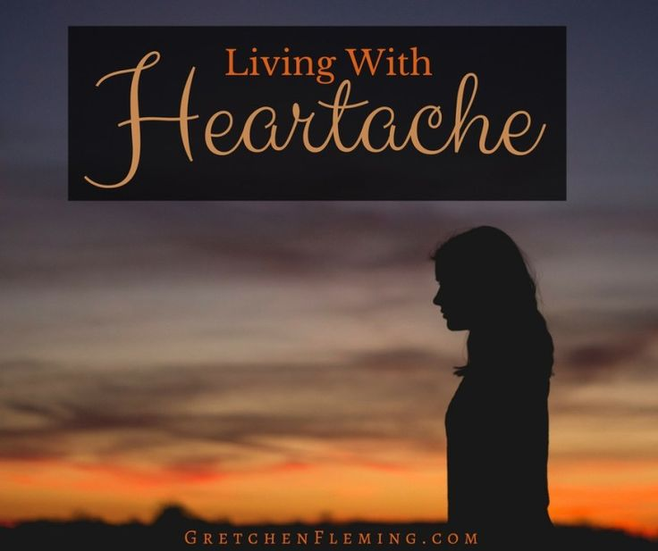 Does heartache plague you? Are you having trouble that overshadows all other aspects of your life? Learn how to live with heartache more productively.