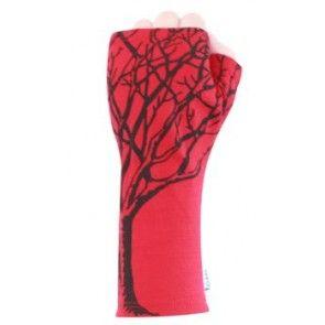 Trees Merino Gloves