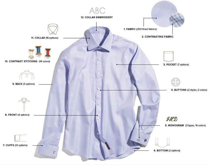 19 best Custom Tailored Shirts images on Pinterest | Custom ...