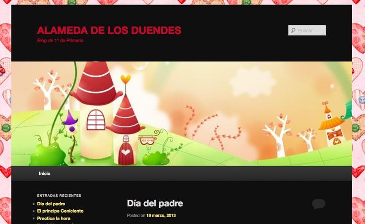 Alameda de los duendes: blog de primer ciclo de Primaria: http://wordpress2.colegio-alameda.com/alamedadelosduendes/