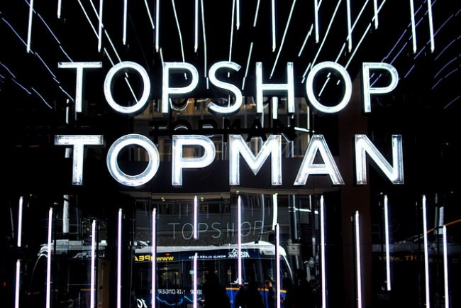 TOPSHOP at The Hudson's Bay Vancouver