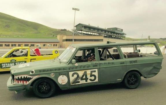 This Lemons racing 245 is aptly numbered for competition.