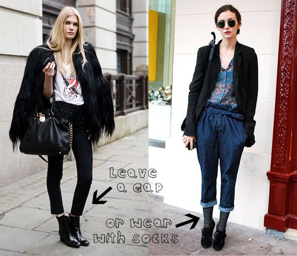 10 Best images about How to wear ankle boots on Pinterest | Ankle ...