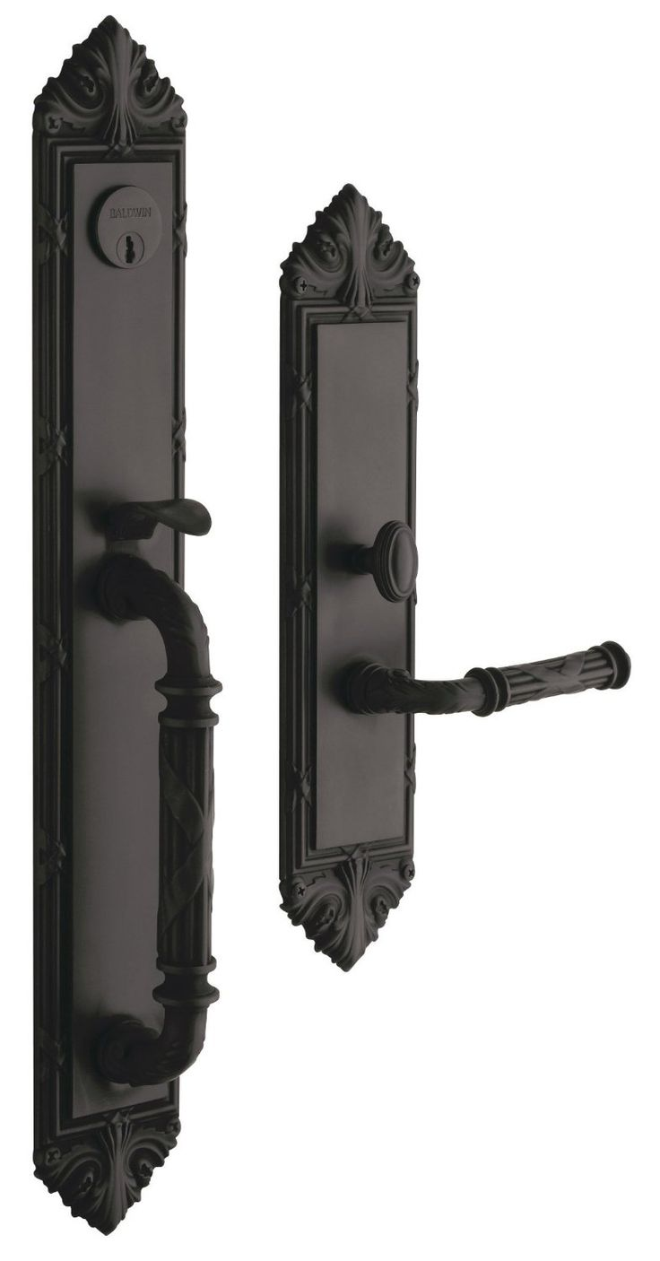 Amazon Com Baldwin Hardware Edinburgh Set Trim Front Door