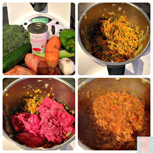 Veg and meat spagbol
