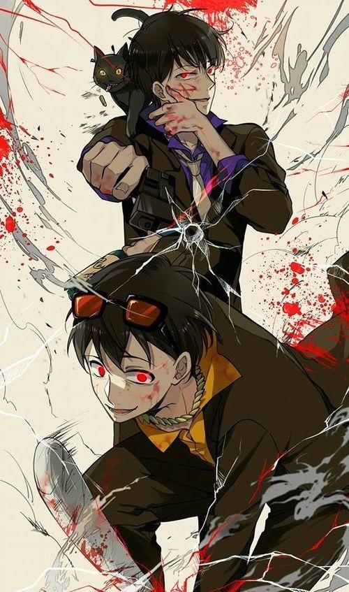 Osomatsu-san- Karamatsu and Jyushimatsu #Anime「♡」Bloody Mafia