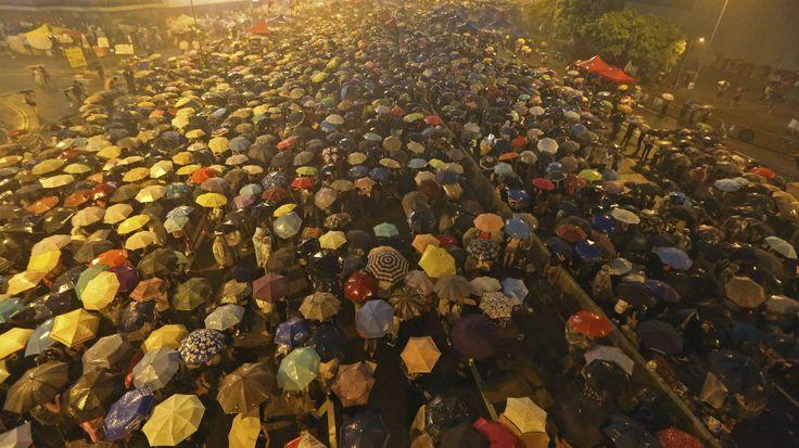 Support the Umbrella Revolution! Democracy for Hong Kong. #hongkong