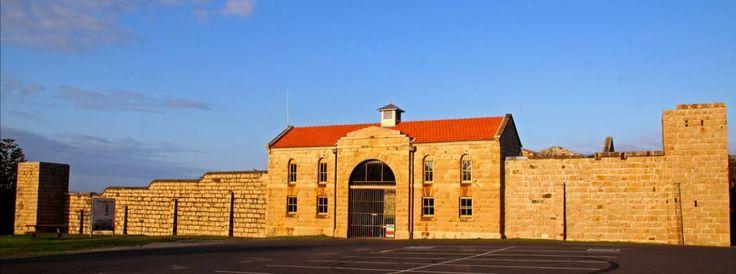 Trial Bay Gaol built to house German interns during WW1, South West Rocks, NSW