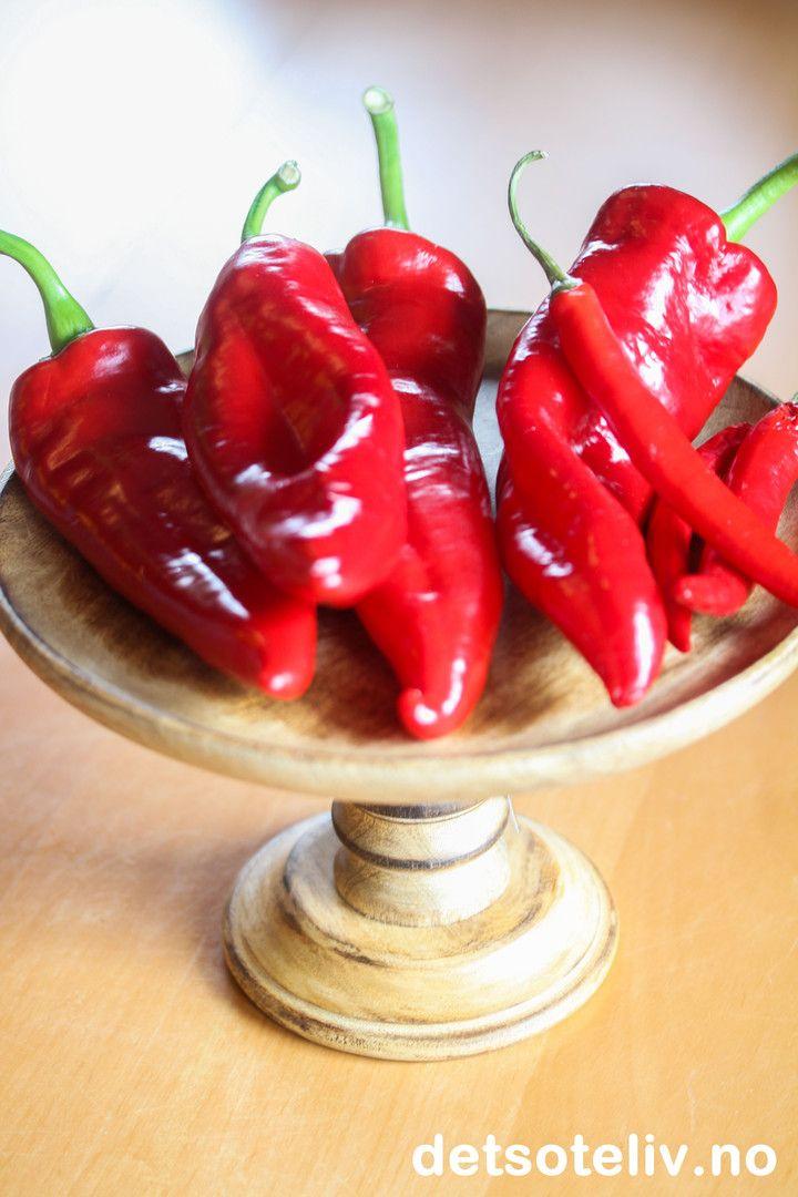 Chilimarmelade | Det søte liv