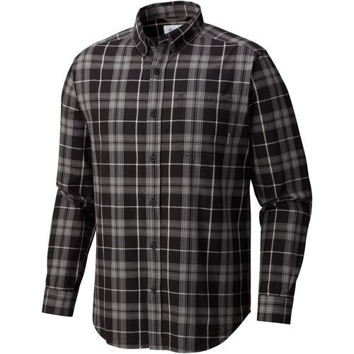 Columbia Sportswear Men's Rapid Rivers II Big & Tall Long Sleeve Shirt (Black, Size 2X Men's) - Men's Outdoor Apparel, Men's Longsleeve Outdoor Top...