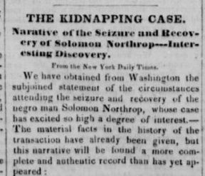 006 Vermont Papers Tell the Story of Solomon Northup Solomon