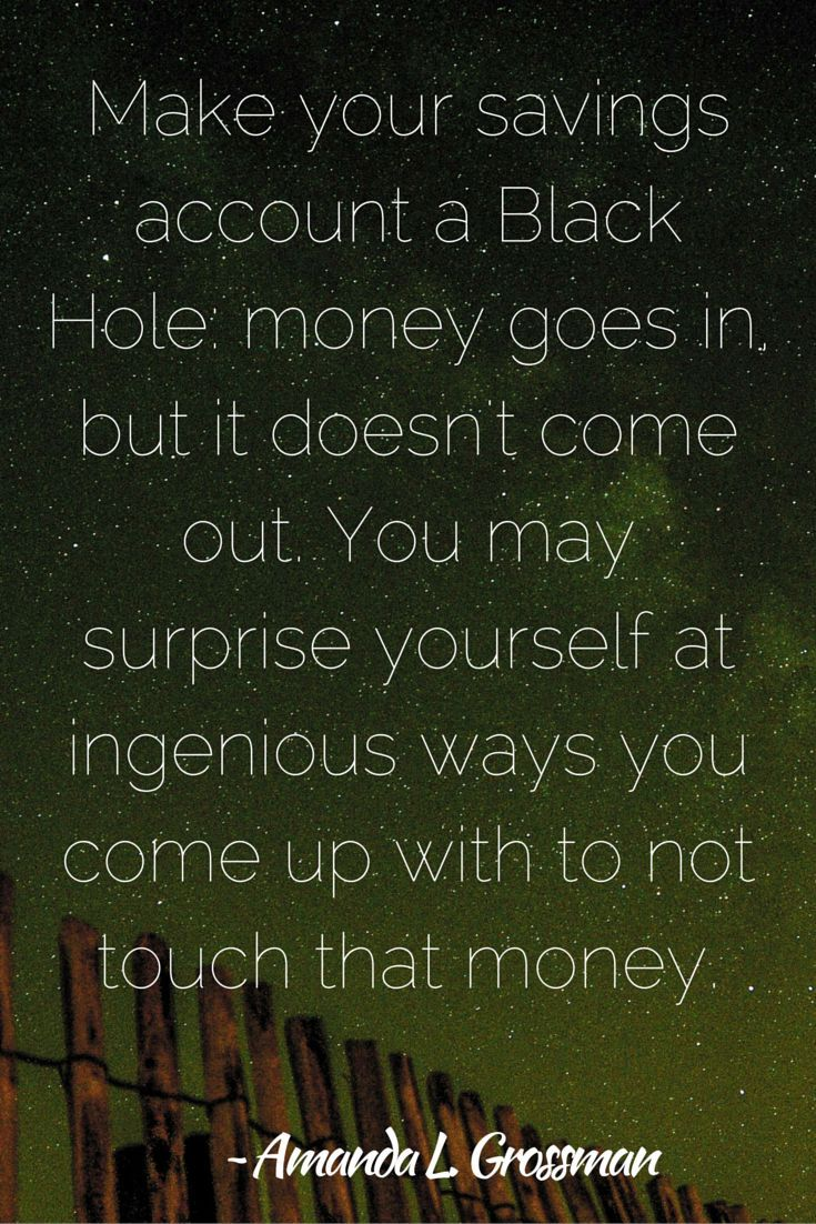 how to get yourself out of a financial hole