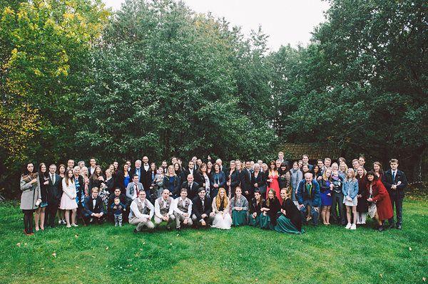 Real Sweden Wedding - Sanna & Daniel - The Bride's Cafe