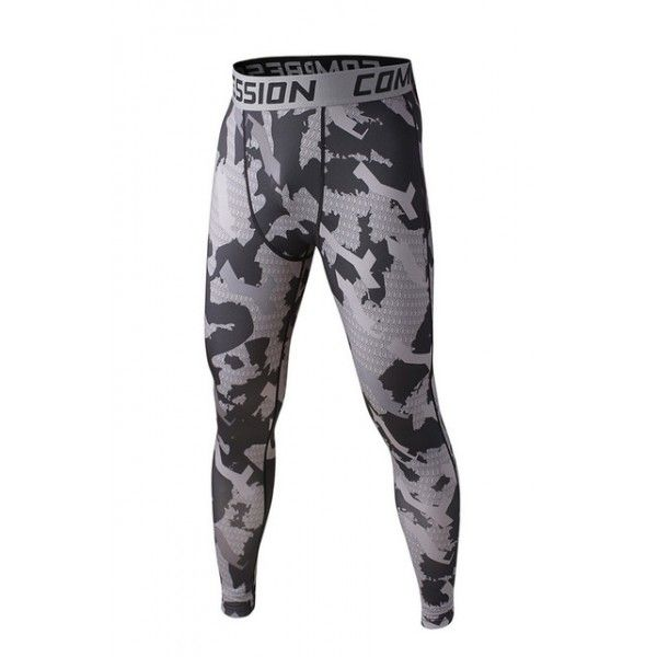 Gray Camouflage Men's Leggings Compression Tights Workout Bodybuilding Fitness 38.99 + FREE Shipping Worldwide http://www.letileggings.com/gray-camo-meggings #meggings #mensleggings #compressiontights #letileggings @letileggings