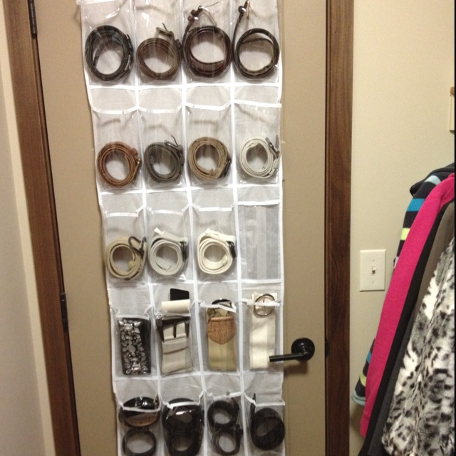 31 Days Of Getting Organized Using What You Have Day Organize With Over The Door Shoe Organizers And Decorate Everything
