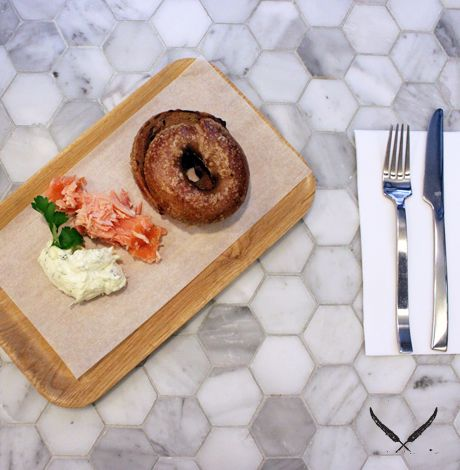 Bowery to Williamsburg is an American style lunch spot in the city that churns out Padre coffee, bagels and tasty homemade treats.