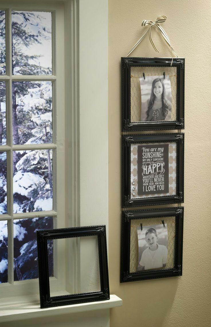 Wooden Window Frame Crafts 120 Best Frame Display Crafts Images On Pinterest