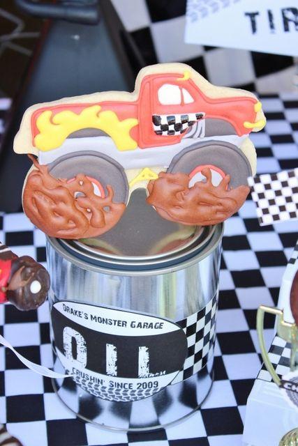 Best 25 Monster Truck Cookies Ideas On Pinterest