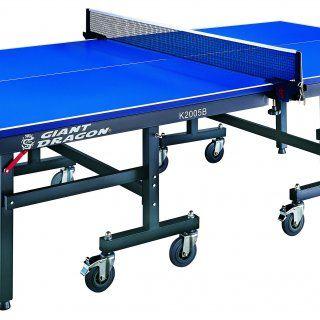 Купить Профессиональный теннисный стол GIANT DRAGON K2005 в комплекте (стол, ракетки, сетка, шары) недорого по цене производителя в Москве