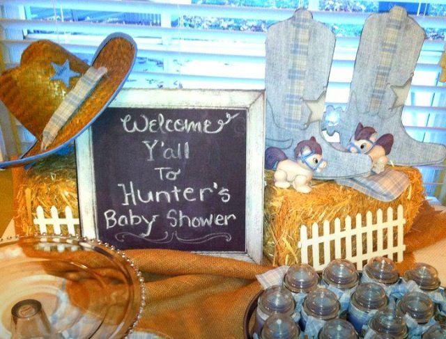 Cowboy Baby Shower