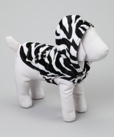 Zebra Dog Hoodie By Piperu0027s Closet #zulily @Taryn H Maggot