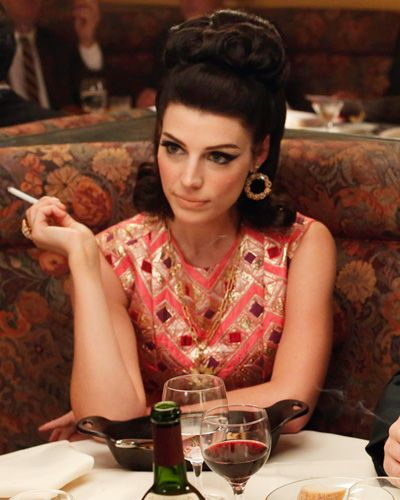 Mad Men Costume Designer Janie Bryant on Season 6 Fashion - Episode 4: Megan's Dinner Look
