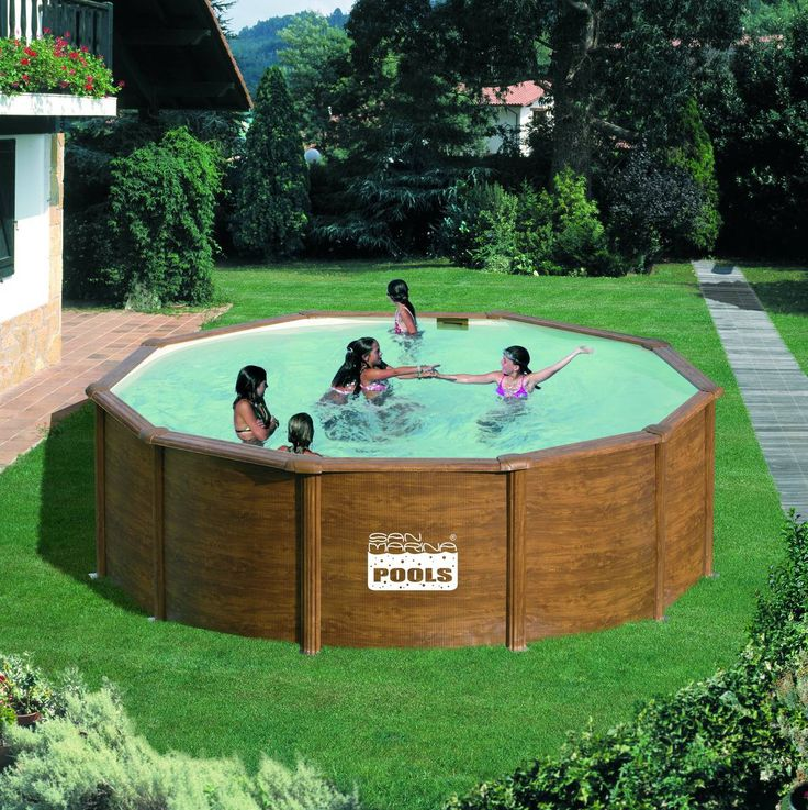 17 meilleures id es propos de piscine hors sol acier sur for Piscine acier ou bois