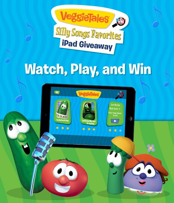 Win an iPad Mini from Fingerprint in the Silly Songs Giveaway: http://www.fingerprintplay.com/sillysongs/