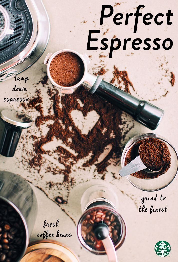 Perfect espresso tip: Grind the beans right before brewing—the longer you wait between grinding and brewing, the longer the grinds are exposed to air, causing staleness.
