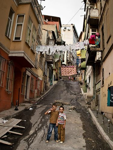 the streets seriously looked like this in istanbul. Or worse