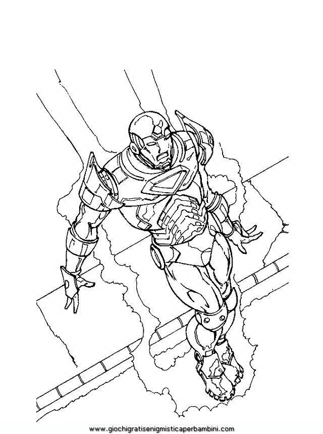 32 best enigmistica images on pinterest crossword for Iron man da colorare per bambini