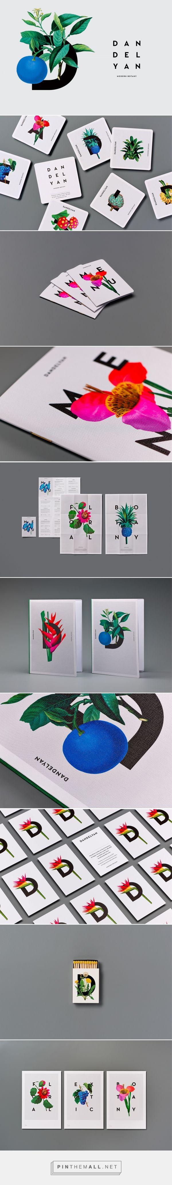 Dandelya Modern Botany Bar Branding by Tim Donaldson   Fivestar Branding Agency – Design and Branding Agency & Curated Inspiration Gallery