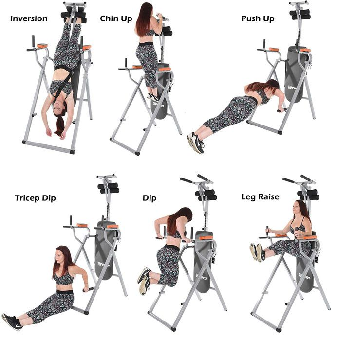 Conquer Inversion Table Power Tower Inversion Table No Equipment Workout Workout Machines