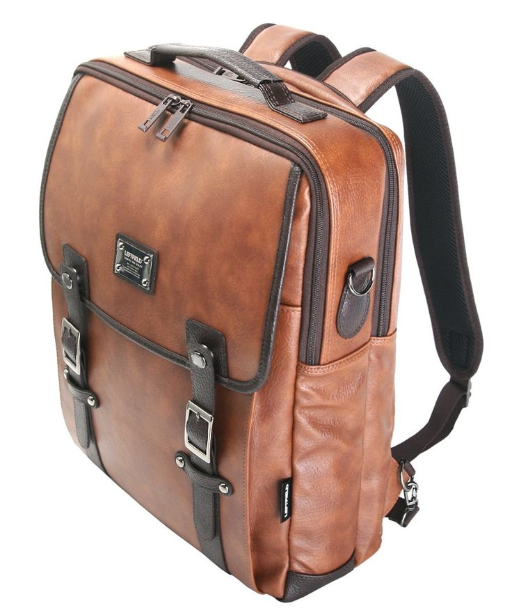 A leather laptop bag which can become a messenger bag, a tote bag or a backpack. Unbelievable value for UNDER $50.